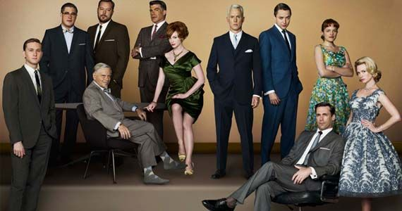 mad men cast Mad Men Seasons 5 & 6 Confirmed
