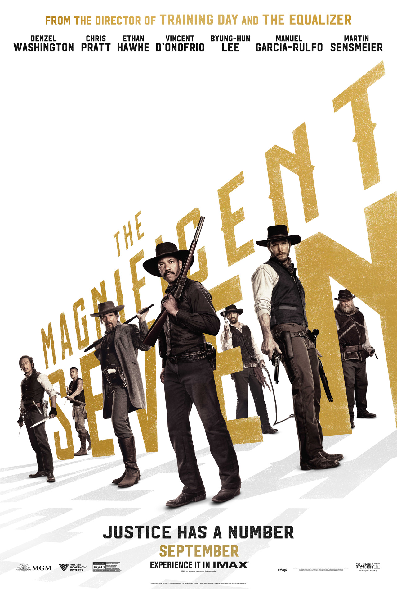 Image result for the magnificent seven 2016 poster