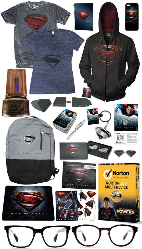 man of steel giveaway SR Giveaway: Win a Man of Steel Prize Pack!