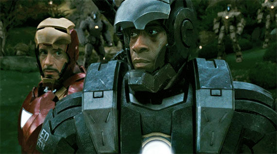 mark 5 armor war machine Iron Man 2 Secrets Revealed