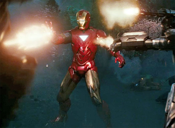 mark 5 armor Iron Man 2 Secrets Revealed