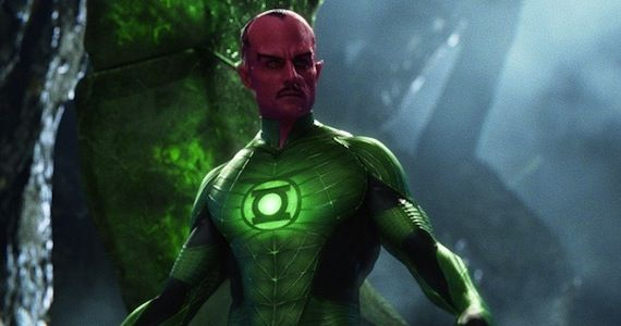 mark strong as sinestro Green Lantern: The Comic Books vs. The Movie
