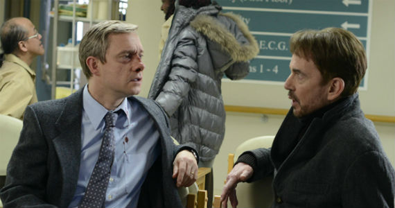 martin freeman billy bob thornton fargo tv series Fargo Series Premiere Review