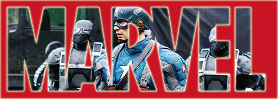 marvel captain america movie costume Chris Evans in Full Captain America Costume   Official First Look [Updated]
