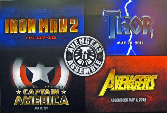 marvel movie logos Marvels Avengers According to Louis Leterrier