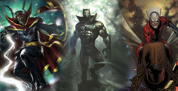 marvel movies ant man black panther dr strange Rumor Patrol: Marvel Studios Looking To Cast Black Panther