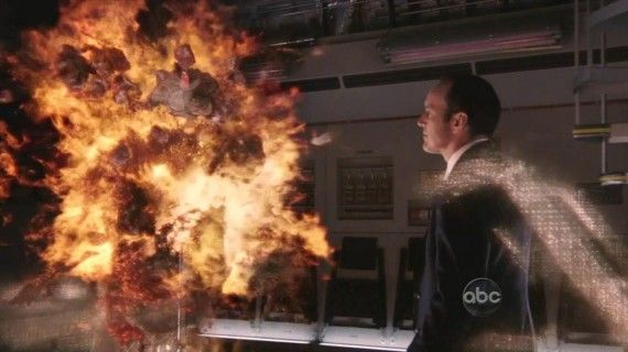 marvels agents of shield 14 570x320 Marvels Agents of SHIELD teaser explosion