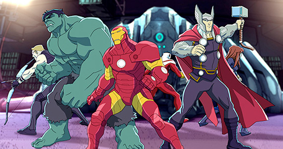 marvelsavengersassemble avengers assembled First Trailer for Marvels Avengers Assemble Animated Series