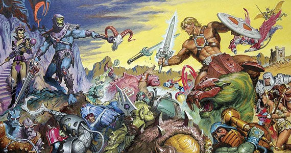 masters of the universe art Masters of the Universe script update