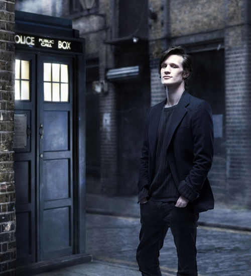 matt smith dr who Doctor Who: Titles, Stonehenge & Neil Gaiman