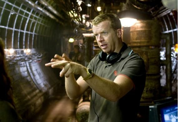mcg on set McG Updates 20,000 Leagues, Prepping Terminator 5