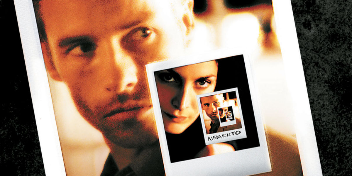 the genre of memento The 'story within a story' concept in memento is somewhat unfamiliar in the 'noir'  genre but not original 2 memento's alternating backwards & forwards.