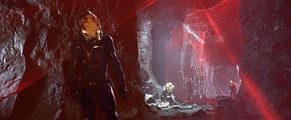 michael fassbender prometheus1 570x235 Ridley Scott Talks Prometheus Story & Sequel Plans