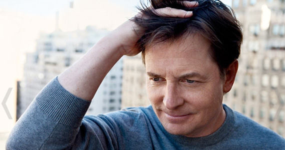 michael j fox hand on head city Michael J. Fox Returning to TV Full Time with New Comedy Series