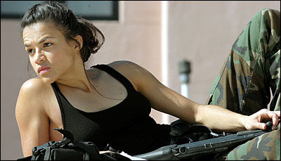 michelle rodriguez Battle: Los Angeles Updates