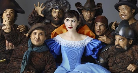mirror mirror lily collins Mirror Mirror Trailer Boasts Colorful Costumes & Whimsy Galore