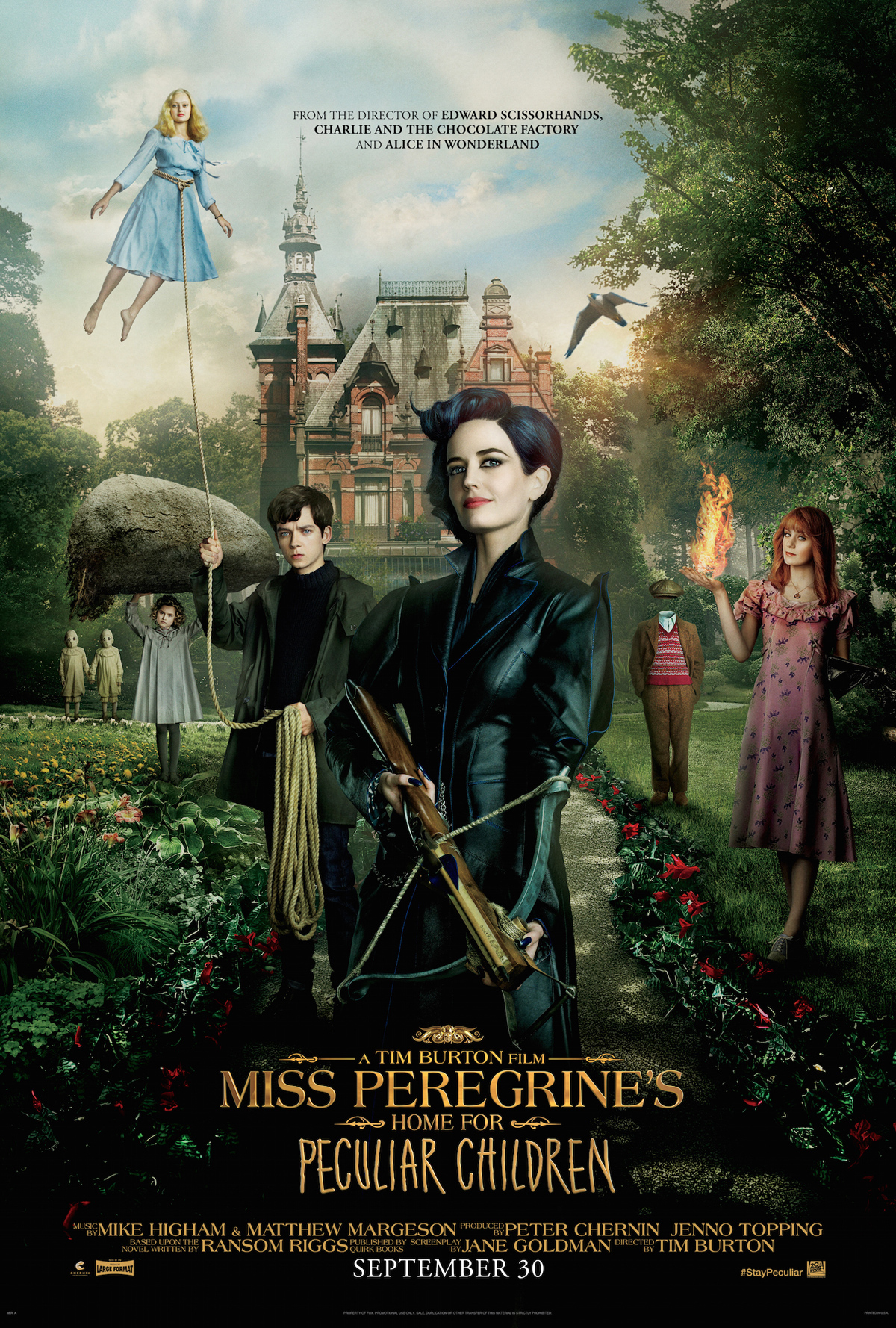 Miss PeregrineS Home For Peculiar Film