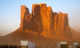 monument valley lone ranger 280x170 Lone Ranger Near Completion; New Set Photos of Trains & Monument Valley