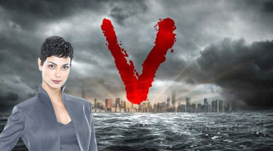 morena baccarin v New Clip and Interview with V star Morena Baccarin