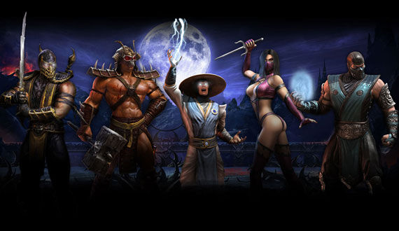 mortal kombat characters Mortal Kombat Web Series Will Precede New Movie
