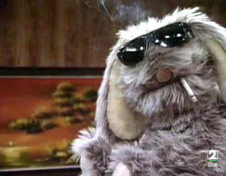 Mr. Floppy from Unhappily Ever After - 10 Badass Rabbits (That Aren't the Easter Bunny)