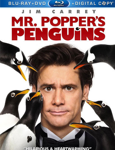 mr poppers penguins blu ray cover DVD/Blu Ray Breakdown: December 6, 2011