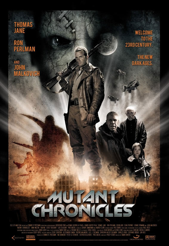 mutant chronicles poster1 Thomas Janes Brings Us The Mutant Chronicles Trailer