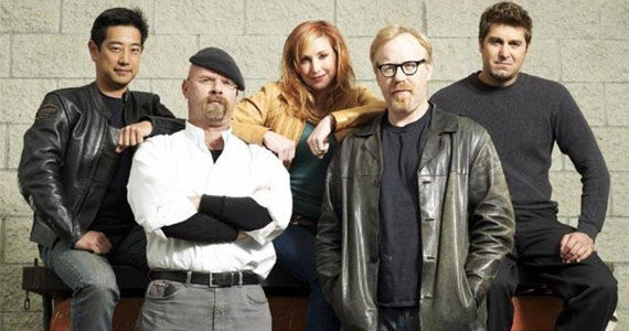 mythbusters cast MythBusters Mishap Sends A Cannonball Flying... Through A House [Video]