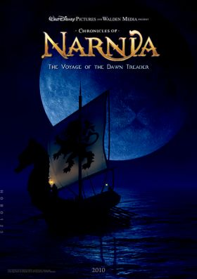 narnia 3 dawn treader poster 280x397 Screen Rants 2010 Fall Movie Preview