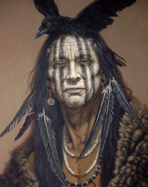 nativeamericanart1 First Lone Ranger Image: Yet Another Weird Johnny Depp Costume
