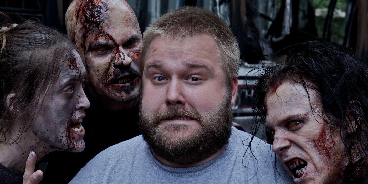 Robert Kirkman and Zombies in The Walking Dead