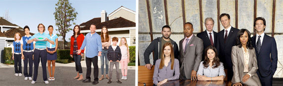neighbors scandal casts combo small ABC Gives The Neighbors and Scandal Full Season Orders
