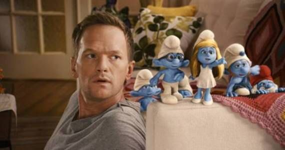 neil patrick harris and smurfs Interview: Neil Patrick Harris Talks The Smurfs & Geek Love