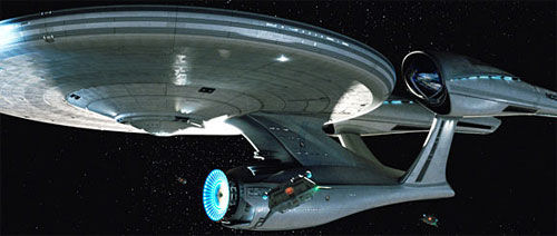 new enterprise first look Star Trek: A Fresh Look At The New USS Enterprise