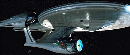 new enterprise flipped Star Trek: How Radical Is The USS Enterprise Redesign?