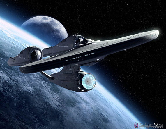 new enterprise1 Star Trek: A Fresh Look At The New USS Enterprise