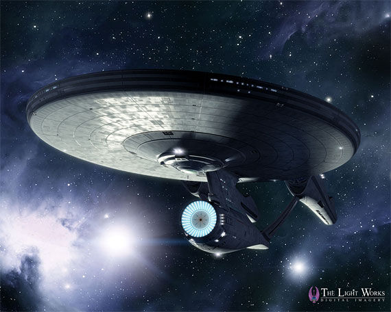 new enterprise2 Star Trek: A Fresh Look At The New USS Enterprise