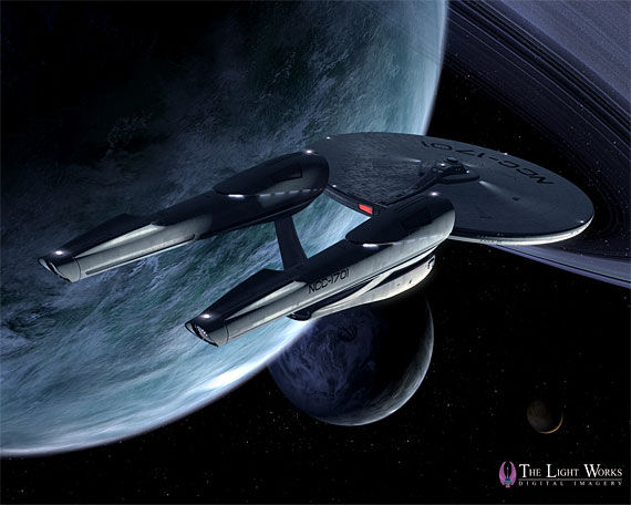 new enterprise3 Star Trek: A Fresh Look At The New USS Enterprise