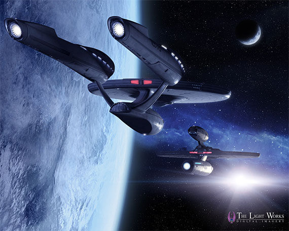 new enterprise5 Star Trek: A Fresh Look At The New USS Enterprise