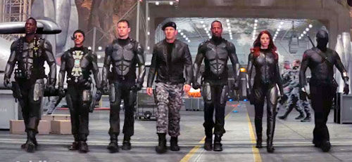 new gi joe trailer New G.I. Joe Trailer: More Cheesy Than Heroic