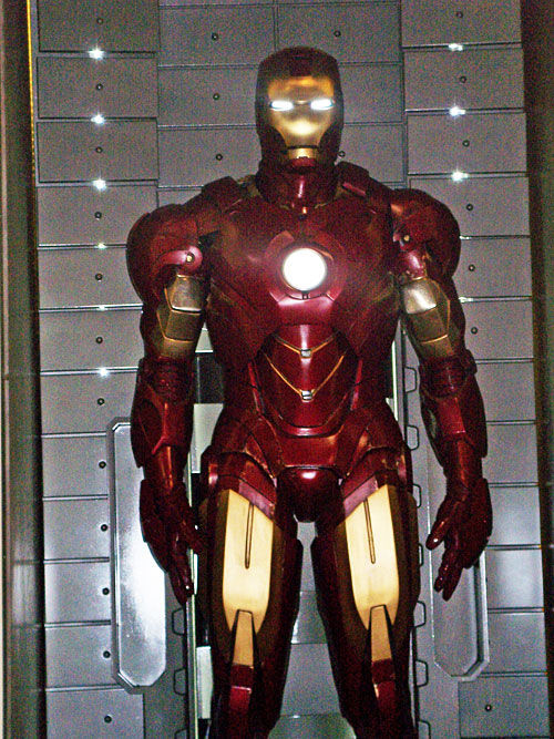 new iron man 2 armor First Look At The Iron Man 2 Armor!