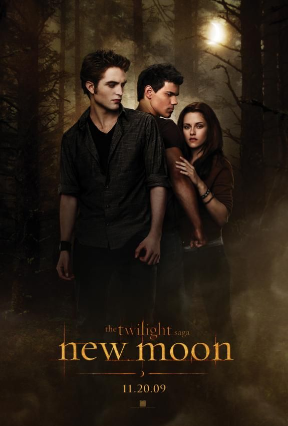 new moon official poster Screen Rants 2009 Fall Movie Preview