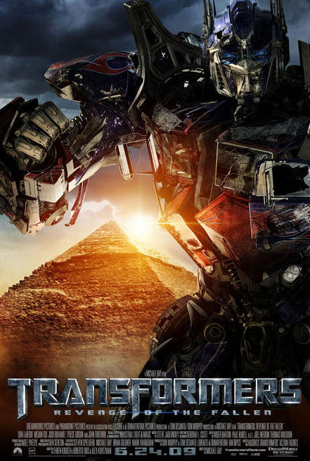 new transformers poster3 Transformers 2: New Pics, TV Spots & Soundtrack Song