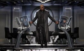 nick fury avengers 280x170 The Avengers: Helicarrier Images & Captain America Costume Talk