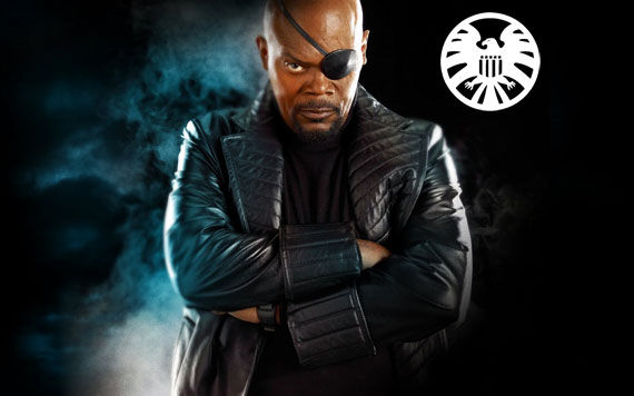 nick fury shield movie samuel l jackson Jeremy Renner Signs On as Hawkeye in The Avengers?