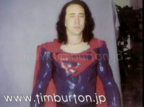 nicolascagesuperman Long Lost Image of Nicolas Cage as Superman?