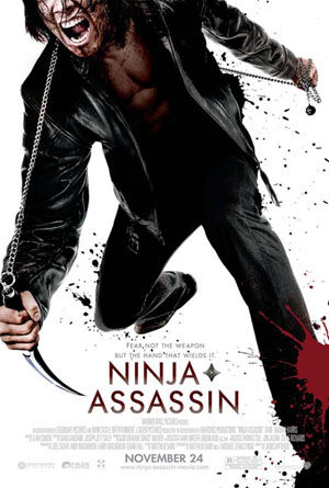 ninja assassin mtv exclusive poster 2 Screen Rants 2009 Fall Movie Preview