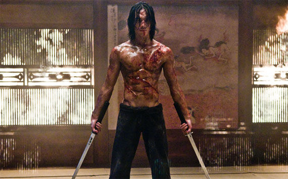 ninja assassin rain as raizo Six Awesome New Ninja Assassin Clips