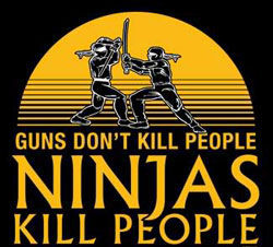 ninjas kill people1 Ninja Assassin Review