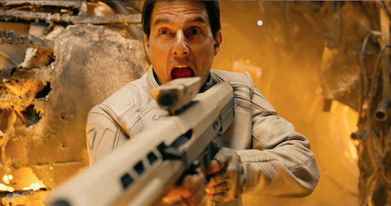 oblivion tom cruise 2 Tom Cruise Eyes The Man from U.N.C.L.E.; Returning for Jack Reacher Sequel?